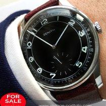 Zenith Wonderful 37mm Oversize Jumbo Zenith with black dial