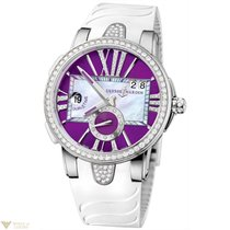Ulysse Nardin Uylsse Nardin Executive Dual Time Purple Dial...