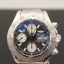 Breitling SuperOcean Chronograph with Black Face & White...