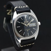 Omega Constellation  Chronometer  Weiss Gold Lünette cal 751...