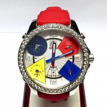 Jacob & Co. 47mm . 5 Time Zone Unisex Watch Factory...
