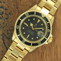 Rolex 18k Yellow Gold Rolex Submariner 1680