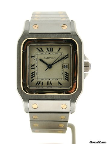 Cartier Santos de Cartier Galb Modello Grande
