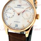 IWC Portuguese Automatic 7 Day Power Reserve, Silver Dial - R/G