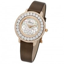 Chopard Heure du Diamant Mother of Pearl Filigree Motif Dial...