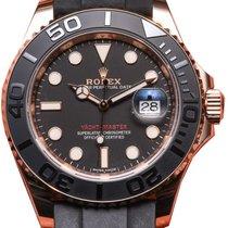 Rolex Yacht-Master 37 Rose Gold 268655 Everose 18k Midsize...
