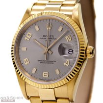 Rolex DATE Ref-15238 18k Yellow Gold Bj-1992