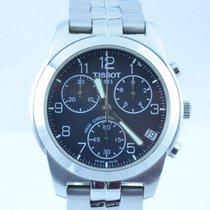 Tissot Herren Uhr Chrono 39mm Quartz Mit Orig. Stahl Armband
