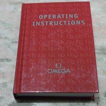 Omega vintage Watch Manual Operating Instructions speedmaster