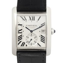 Cartier Tank Stainless Steel Silver Automatic W5330003