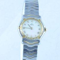 Ebel Classic Wave Damen Uhr 1911 25mm Quartz Stahl/stahl Zf...