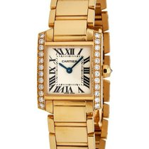 Cartier Tank Francaise 18K Yellow Gold Watch – WE1001R8