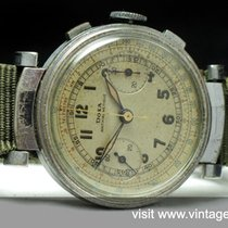 Doxa Early Doxa Chronograph Vintage with three colored dial