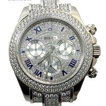 Rolex Cosmograph Daytona 116519 White Gold Full Diamonds