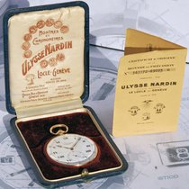 Ulysse Nardin Rarissimo Orologio Da Tasca  Oro 18kt 1930 Box E...