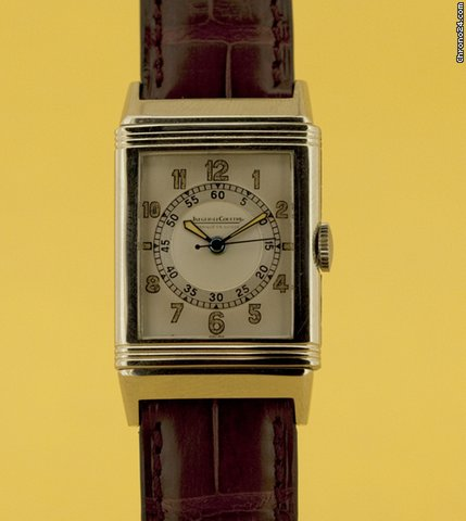 Jaeger-LeCoultre NICE REVERSO VINTAGE SILVER 50