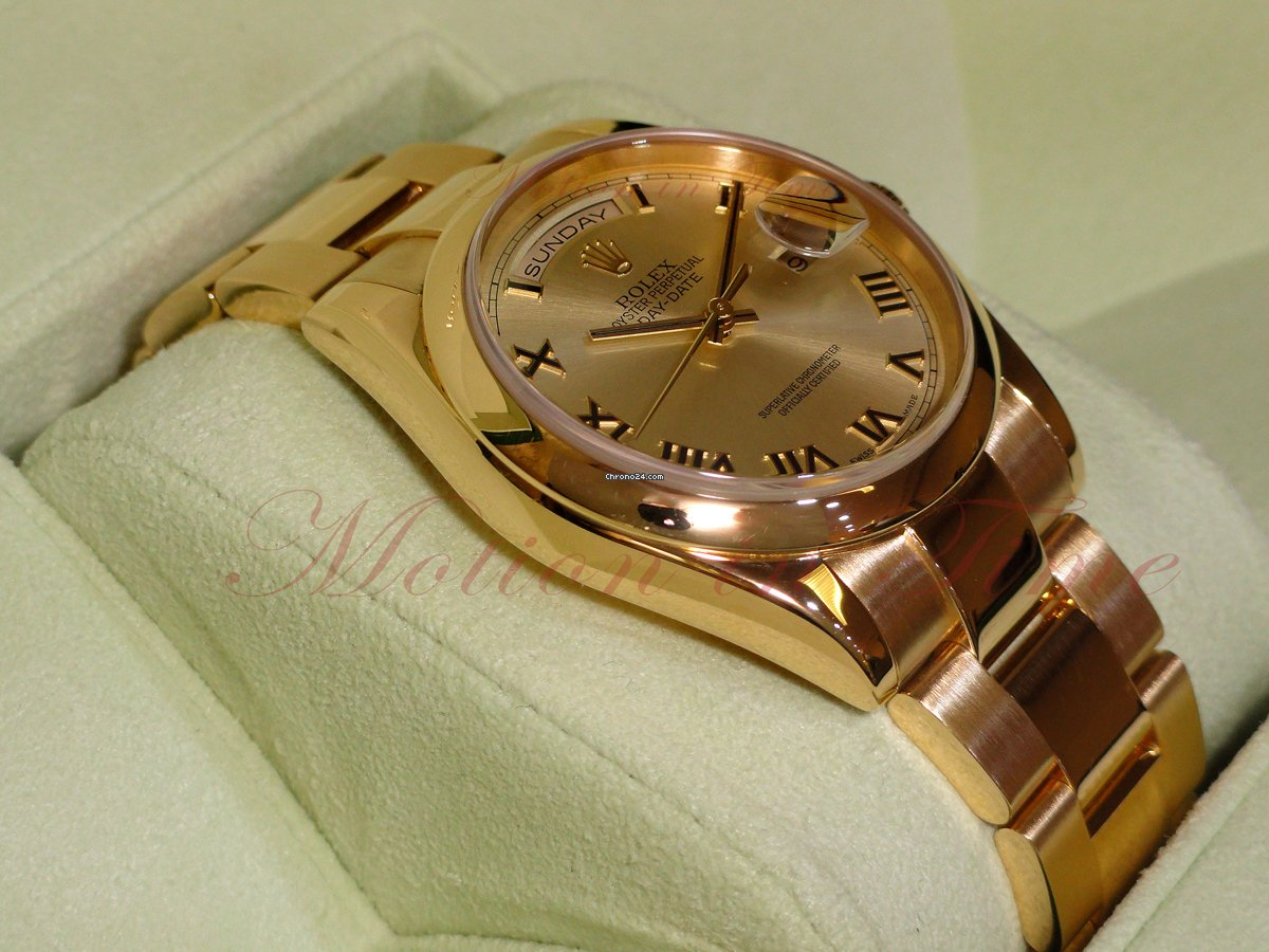 Gold Oyster President 36mm