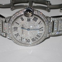 Cartier Ballon Bleu Midsize 36 MM Diamonds