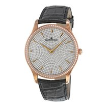 Jaeger-LeCoultre Master Ultra Thin Small Second Gem-Set Dial...