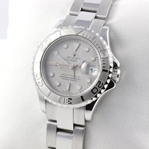 Rolex LADY YACHTMASTER EDELSTAHL / PLATIN AUTOMATIC PAPIERE LC100