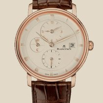 Blancpain Villeret Zone Time Dual time Rose Gold