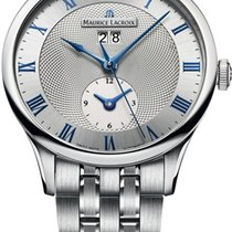 Maurice Lacroix Masterpiece Tradition Date GMT mp6707-ss002-110