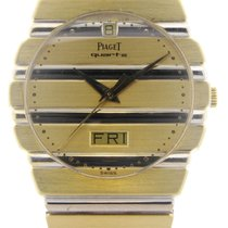 Piaget Polo Quartz Men's 18K Yellow Gold Watch 15562 C 701