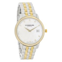 Raymond Weil Toccata Diamond Ladies MOP Swiss Quartz Watch...