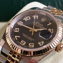 Rolex DATEJUST ST GG REF 116233++WIE NEU++B&P