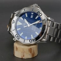 Omega Seamaster Professional 300 Electric Blue Wave Dial