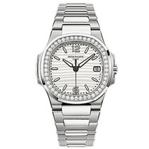 Patek Philippe 7010/1G-011 7010 Ladies Nautilus with Diamond...