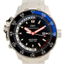 IWC Aquatimer Stainless Steel Black Automatic IW354703