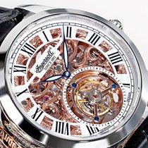 Ingersoll Tourbillon Uhr Golden Spike IN5102SRG