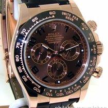 Rolex Daytona 116515LN Chocolate Arabic Dial Black Ceramic...