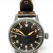 Laco BIG PILOT GROSSE FLIEGERUHR EDELSTAHL 1940 TYP A