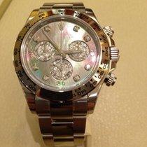 Rolex Daytona 116509 Weißgold Perlmutt Diamant Zifferblatt