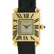 Cartier Carrè-obus In Yellow Gold 18kt