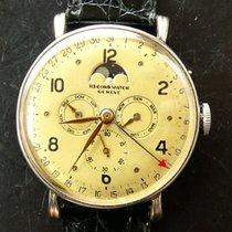 Record Vollkalender Mondphase Vintage Seltene Herren Armbanduh...