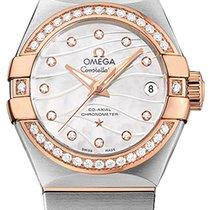 Omega 12325272055005 Constellation Pearl Ladies Watch
