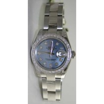 Rolex Datejust 179160 Lady's Stainless Steel New Style...