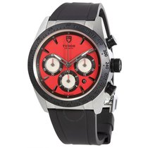 Tudor Fastrider Chrono Red Dial Automatic Men's Watch