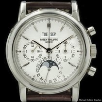 Patek Philippe Ref# 3970P Silver Dial, Perpetual Chronograph,...