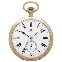 Omega gold pocket watch
