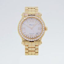 Chopard 274808-5004 Happy Sport Rose Gold diamonds 36mm