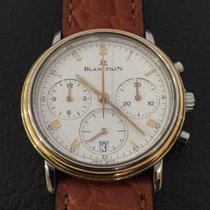 Blancpain Villeret chronograph yellow gold/steel