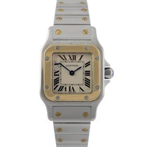 Cartier Santos Automatic Ladies Stainless Steel & 18k Gold
