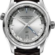 Hamilton Jazzmaster GMT H32605551 Herren Automatikuhr 2. Zeitzone