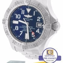 Breitling Avenger Seawolf Automatic Blue 45mm Stainless A17330...