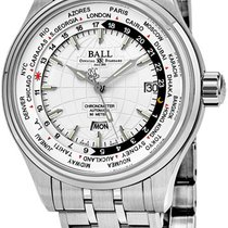 Ball Trainmaster Worldtime GM2020D-SCJ-WH