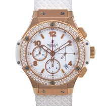 Hublot Big Bang Gold White 41mm Automatic Chronograph Watch...